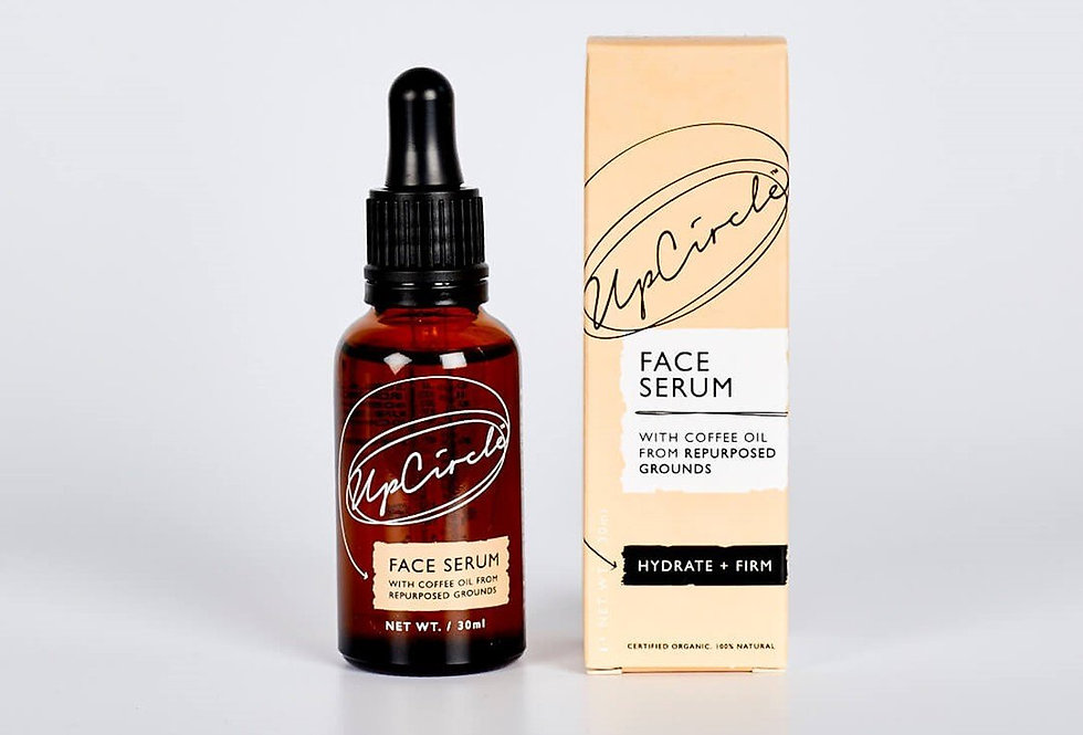 Organic Face Serum with Coffee Oil 30ml - UpCircle
