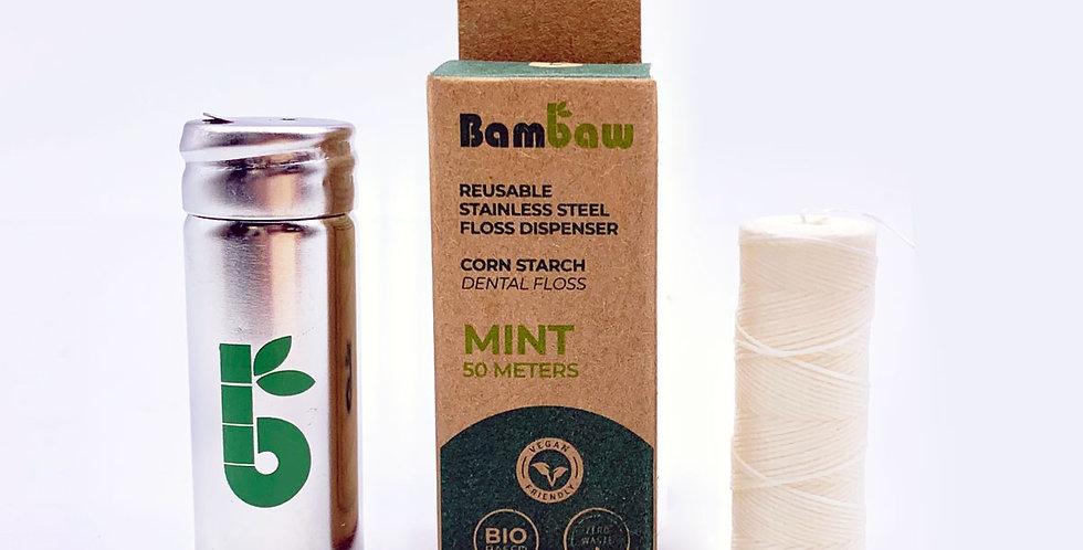 Corn Starch Vegan Dental Floss - Bambaw