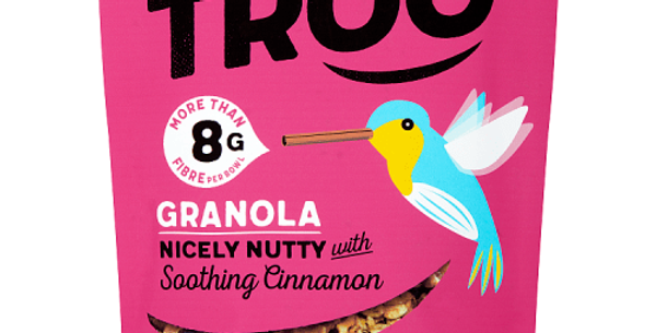 Granola, Nicely Nutty With Soothing Cinnamon 350g - Eat Troo