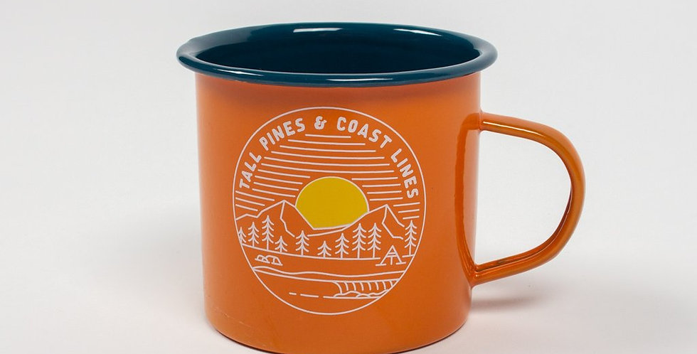 Sweden Tin Mug - Passenger Clothing