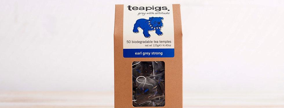 Earl Grey Strong Tea x50 Tea Temples - Teapigs