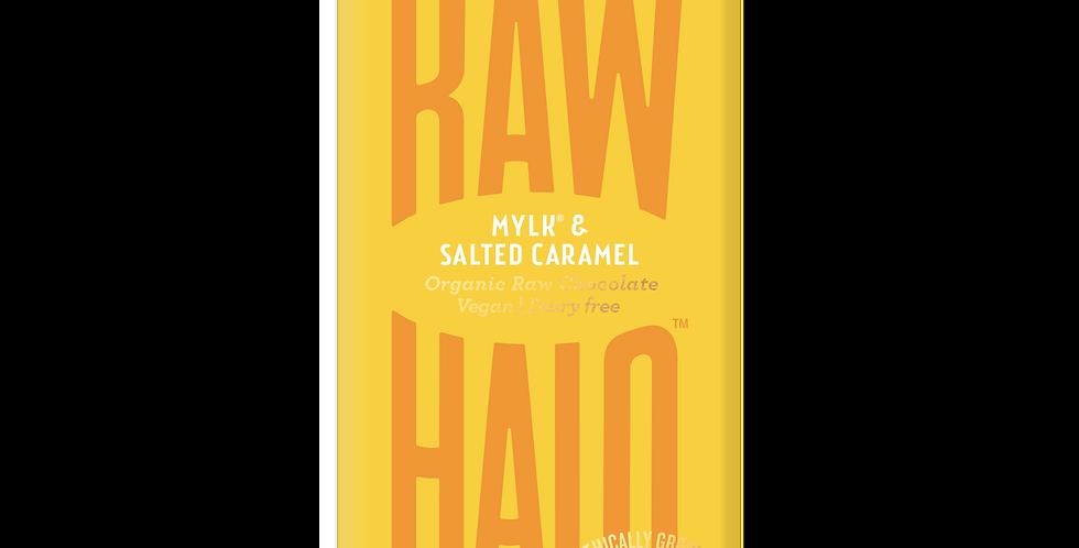 Raw Halo Mylk & Salted Caramel Vegan Chocolate - 35g