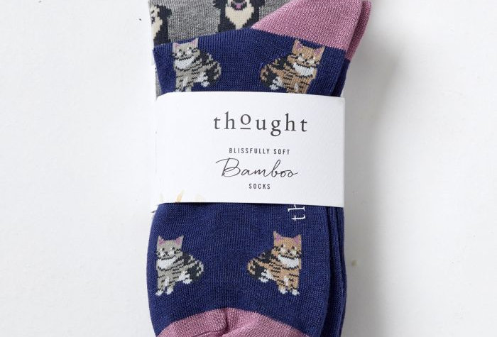 Cats And Dogs Sock Pack - Thought Clothing