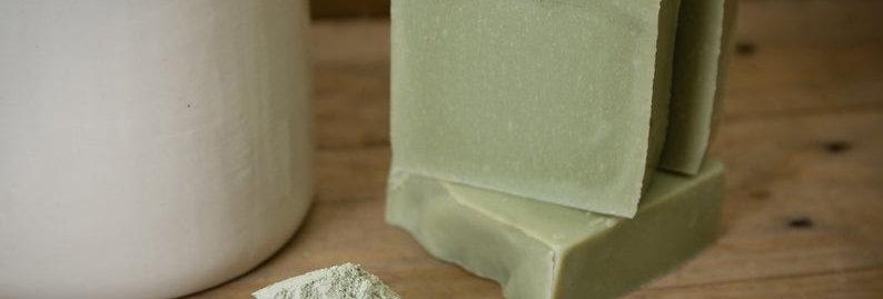 Tea Tree & Green Clay Soap Bar 110g - Bean & Boy