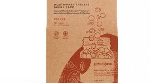 Mouthwash Tablets Orange x720 Tablets - Georganics
