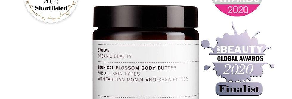 Tropical Blossom Body Butter 120ml - Evolve Beauty