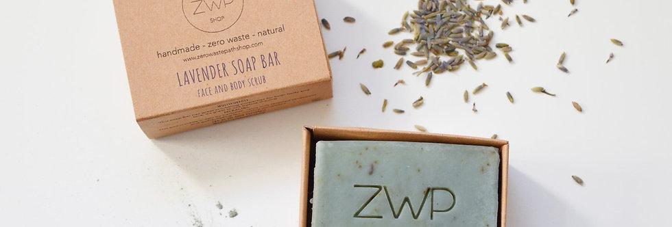 Lavender Soap Bar 100g - Zero Waste Path