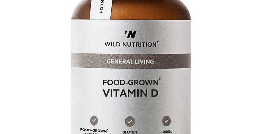 Food-Grown® Vitamin D - Wild Nutrition