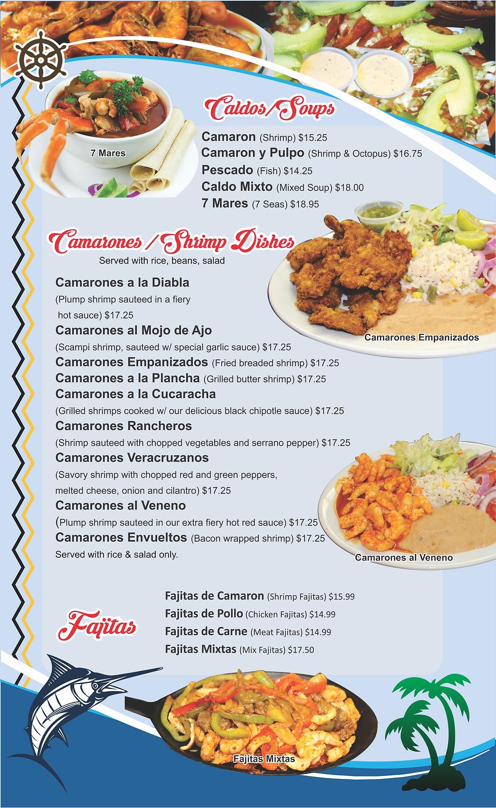 Mariscos Las Cazuelitas Menu 3.png