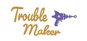 Laser gun logo Gold - Trouble Maker.PNG