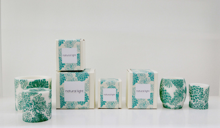 Japanese Chrysanthemum | White & Aqua