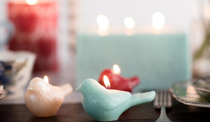 Bird Candles