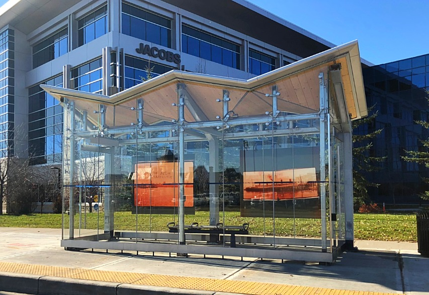 City of Calgary BRT Bus Shelters
