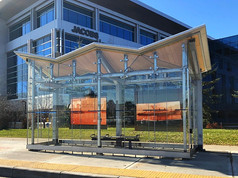 City of Calgary Bus Rapid Transit Shelters