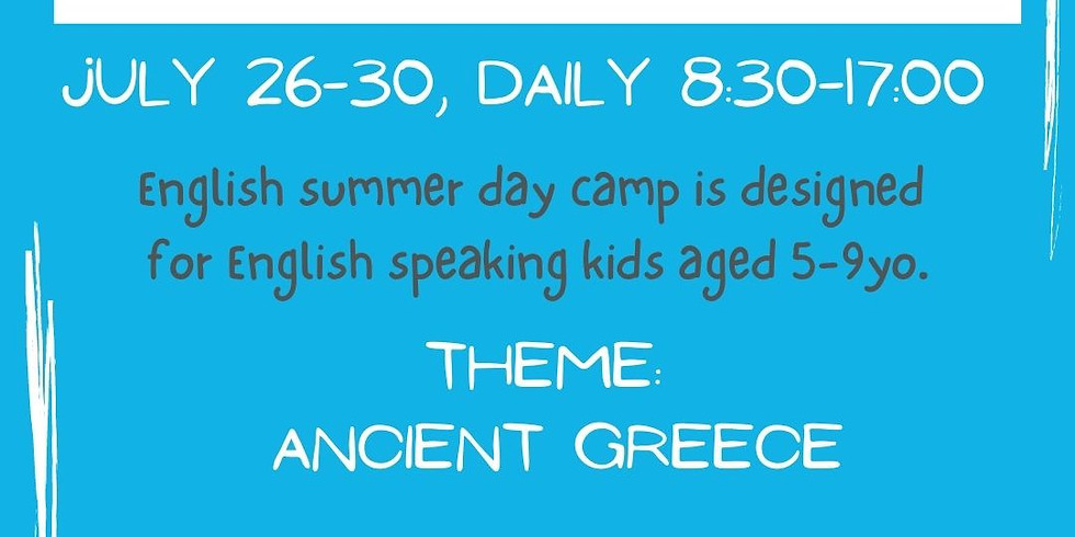 KINDY CAMP - Ancient Greece
