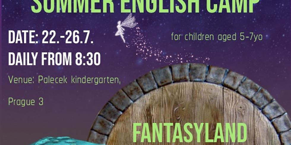 English camp for children (age: 5-7yo)