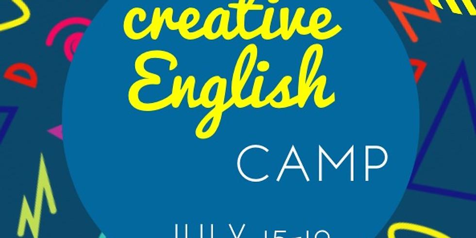 Creative English Camp (age: 7-14yo)