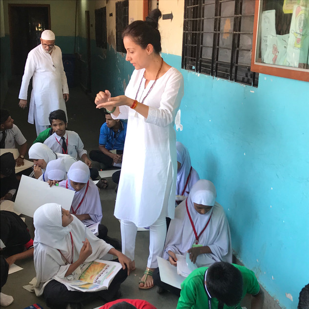 Art Camp on World Water Day- 2019