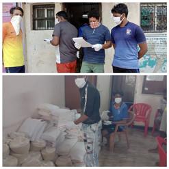 Covid-19 Relief Work