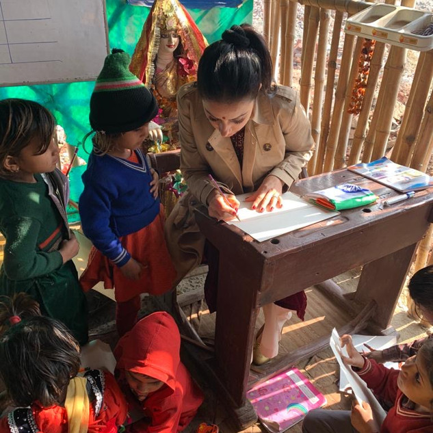 Refugee camp art camp 2019 .JPG