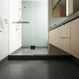 Millennium Glass: Glass Shower