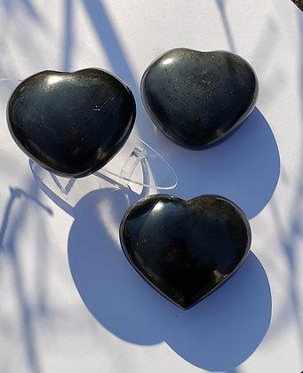 Black Tourmaline Heart, Large