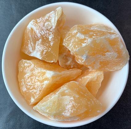 Orange Calcite Natural