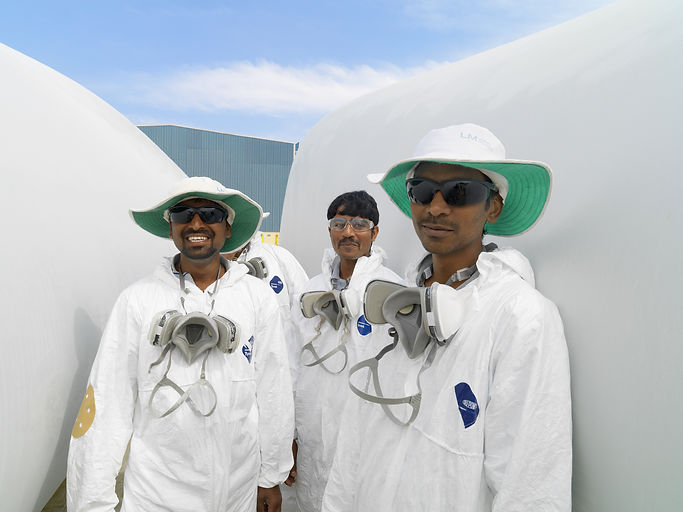 LM Wind Power / India