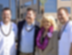 Joel Biggs, Jeremy Biggs, Chris Meeker with Arizona Governor Brewer
