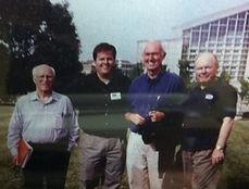 Joel Biggs, with Robert Matthews, Roy Christensen and Robert Millett