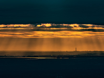 Blackpool Tower from Rivington Pike