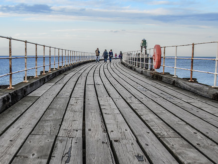 Whitby Pier, North Yorkshire