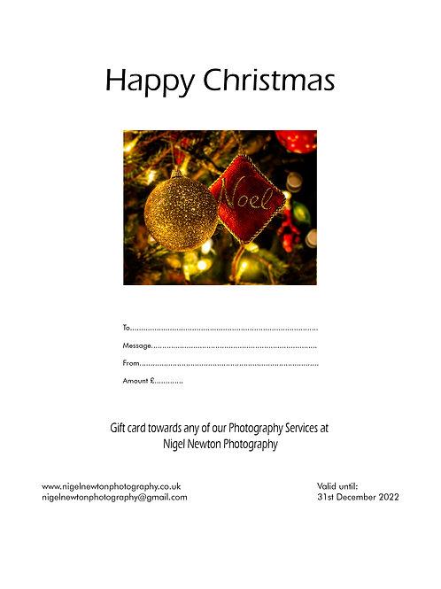 Christmas E-Gift Card £5-£100