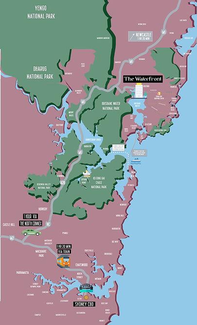 Sydney to Gosford Map - FINAL V5 - Exten