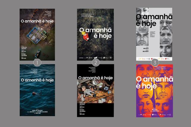Estudos dos cartazes