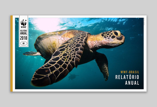 Capa do anuário 2018 da WWF-Brasil