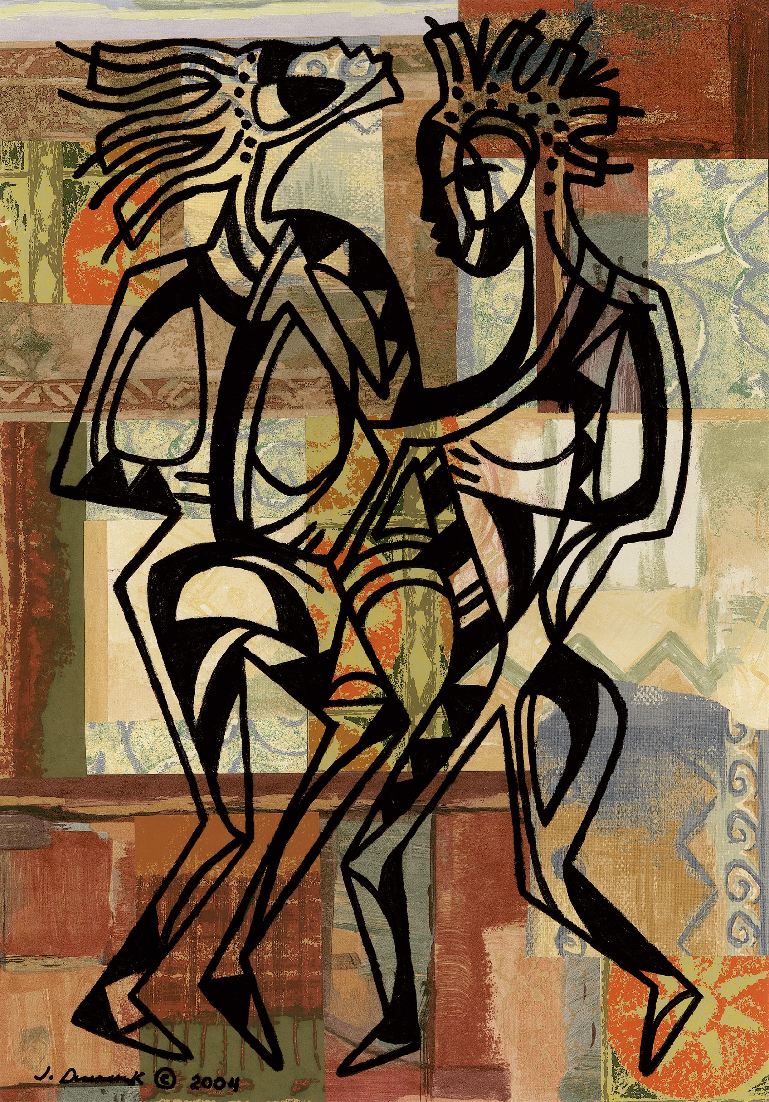 ANCIENT DANCERS