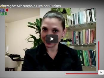 Professora da UFOP, Tatiana Ribeiro, fala sobre reparação integral a atingidos pela mineração