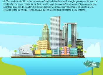 """""""Cidade particular"""" para 150 mil pessoas será construída em de área de abastecimento de água de BH"""