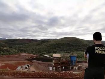 PF deflagra segunda fase de operação contra mineração ilegal no Taquaril em Belo Horizonte