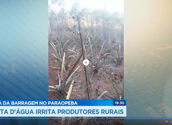 Record TV: vizinhos do Rio Paraopeba sofrem com a falta d'água 20 meses após rompimento