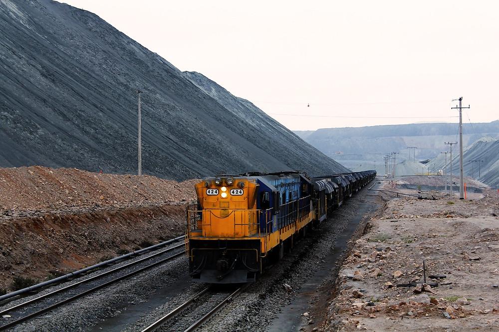 Trem de mineração