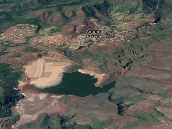 MP pede bloqueio de R$1 bilhão da Vale para moradores evacuados em Ouro Preto