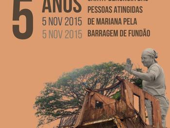 Carta-denúncia das pessoas atingidas de Mariana pela barragem do Fundão