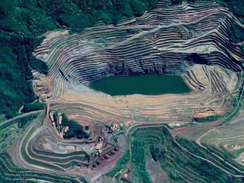 Velocidade de deslocamento do talude da mina de Gongo Soco salta para 42,4 centímetros por dia