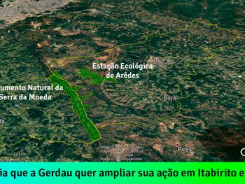 Liminar suspende reunião sobre licenciamento de mineração da Gerdau
