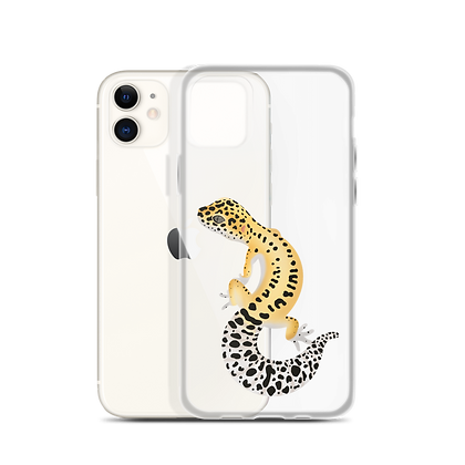 Common Leopard Gecko Clear Phone Case