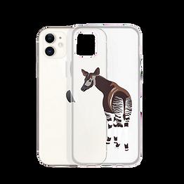 Okapi Clear Phone Case