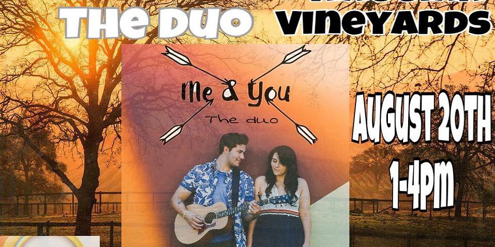 Me & You the Duo @ NAGGIAR VINEYARDS