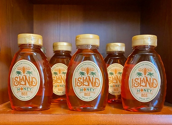 12 oz Raw, Pure, Tropical Honey